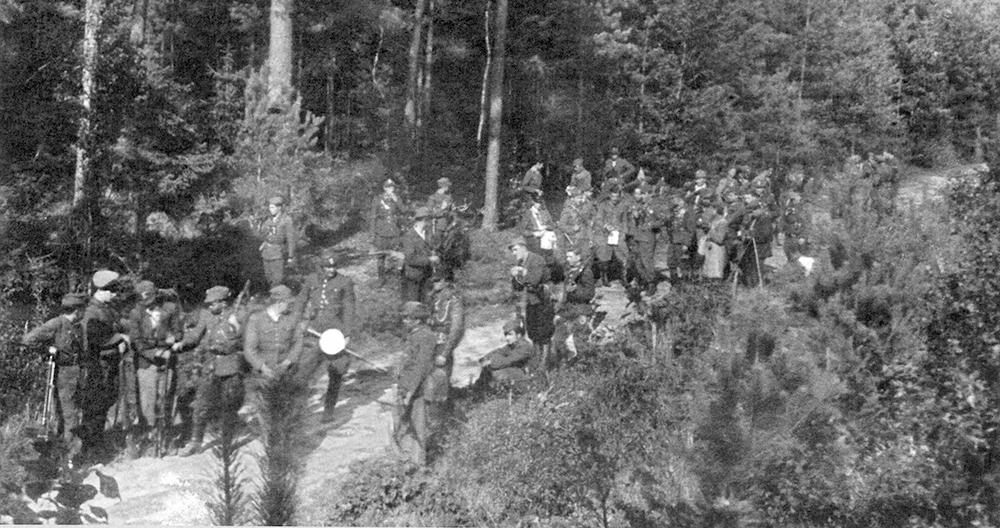 """Rajd zgrupowania partyzanckiego """"Zapory"""" po Podkarpaciu 31 lipca – 21 sierpnia 1946 r. Fakty i Mity."""