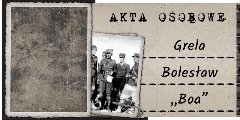 """Grela Bolesław """"Boa"""""""