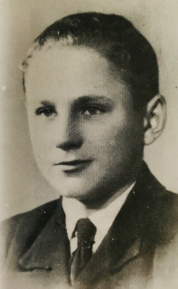 Stanisław Kuchciewicz w wieku 15 lat