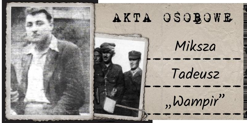 """Miksza Tadeusz """"Wampir"""""""
