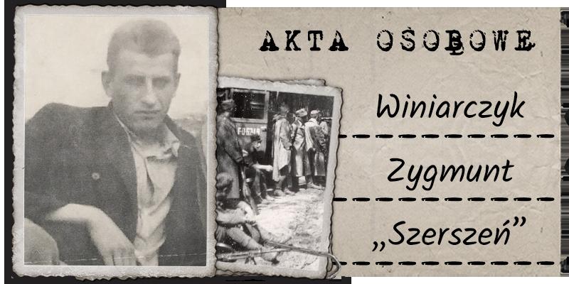 """Winiarczyk Zygmunt """"Szerszeń"""""""
