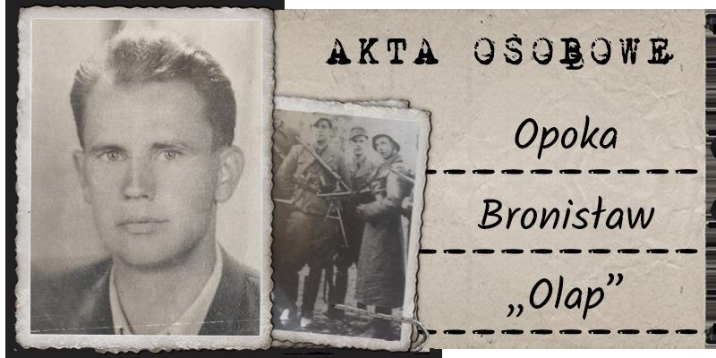"""Opoka Bronisław """"Olap"""""""