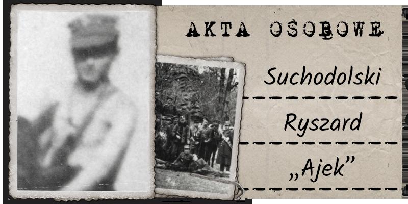 "Suchodolski Ryszard ""Ajek"""