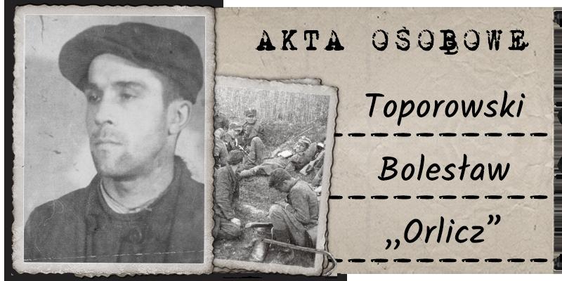 """Toporowski Bolesław """"Orlicz"""""""